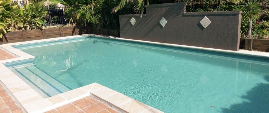 Concrete Pool Renovation Brisbane - Pebblecrete Pool Resurfacing