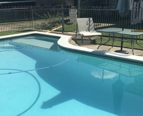 Concrete Pool Resurfacing Service - Pebblecrete Interiors