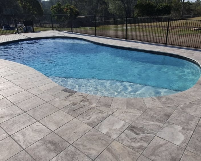 Alderley After Concrete Pool Renovations - Poolscape Renovations