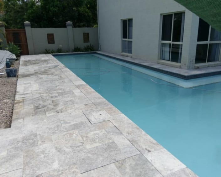 Brisbane Pool After Concrete Pool Renovations - Pool Transformations