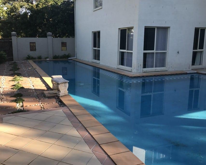 Brisbane Pool Before Concrete Pool Renovations - Luxury Lap Pool Specialist
