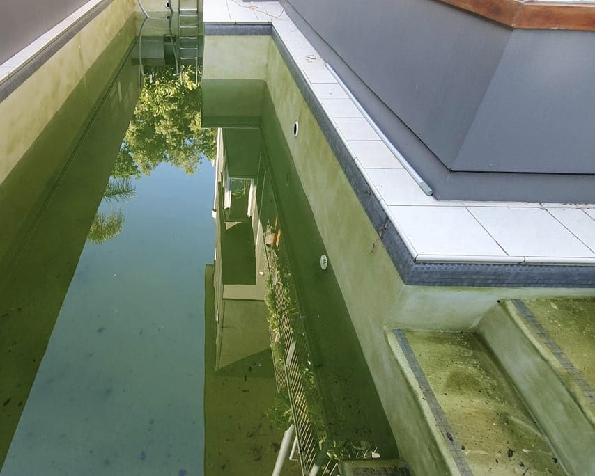 Modern Pool Before Concrete Pool Renovations - Quality Concrete Pool Repairs