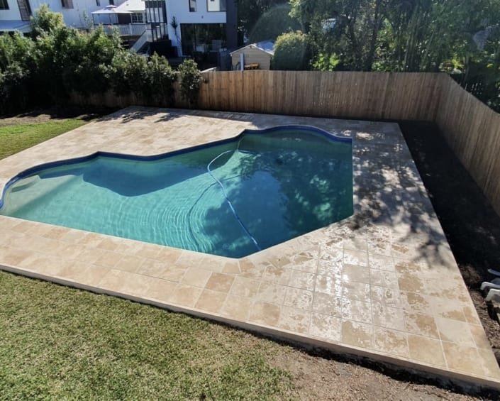Residential After Concrete Pool Renovations - Award Winning Pool Designs