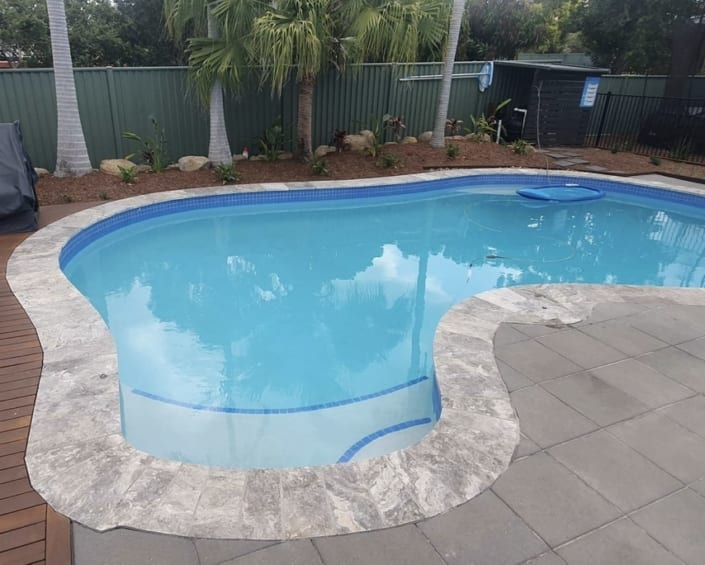 Sunshine Coast After Concrete Pool Renovations - Residential Concrete Swimming Pool